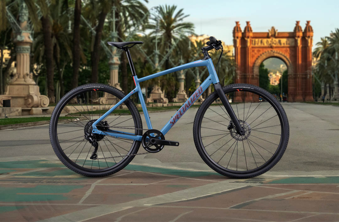 Sirrus, Sirrus X and Roll active fitness bikes